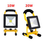 Portable Outdoor LED Floodlight Rechargeable IP65 Waterproof Work Light 10W 20W