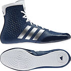 Adidas KO Legend 16.2 Boxing Boots Mens Blue Sports Shoes Trainers