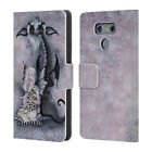 OFFICIAL AMY BROWN FOLKLORE LEATHER BOOK WALLET CASE COVER FOR LG PHONES 1