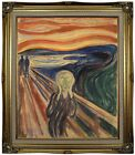 Munch The Scream 1910 Framed Canvas Print Repro 20x24