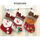 Stocking Candy Socks Santa Claus Christmas Gifts Bag Party Hanging Ornaments