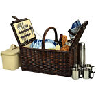 Freeport Park Basket with Coffee Flask for Four