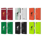 LIVERPOOL FC LFC KIT 2017/18 LEATHER BOOK WALLET CASE FOR APPLE iPHONE PHONES