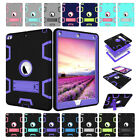 Defender Case For iPad 2 3 4 /Mini /Air /Pro Hybrid Rubber Hard Shockproof Cover