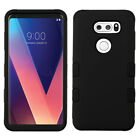 For LG V30 IMPACT TUFF HYBRID Protector Case Skin Phone Cover Accessory