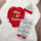us-stock-infant-baby-girls-first-christmas-clothes-romper-pants-hat-outfits-set