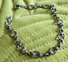 Small Solid Sliver (Marked) Ladies Bracelet - 17.5 cm length Pretty