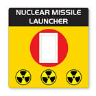 2 X Missile Launcher -uk Light Switch Stickers,living Room Bedroom Nursery Decor