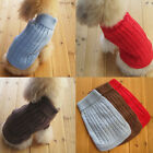 Dog Cat Pet Warm Jumper Sweater Clothes Puppy Knitwear Shirt Apparel Size S/M/L