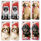 HEAD CASE DESIGNS DOG BREED RED GLITTER CASE FOR APPLE iPHONE SAMSUNG PHONES