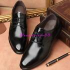 New Men's stylish lace-up Leather Business Oxford Dress Formal Casual Shoes