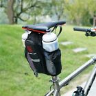 Waterproof Bicycle 2 Pockets Seat Bike Cycling Rear Tail Rack Storage Pouch Bag