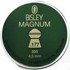 Bisley Magnum Air Rifle Pellets Air Gun Ammunition .22 or .177 Full Tins