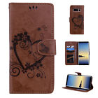 For Samsung Phone/Note 9 Leather Magnetic Flip Stand Card Slot Wallet Case Cover