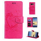 For Samsung Note 10/9/S10+/S9 Leather Magnetic Flip Stand Card Wallet Case Cover