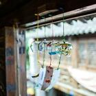 japanese garden bell - Glass Wind Chime Wind Bell with Japanese style Painting Garden Decoration- PICK