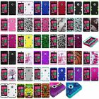 Silicone Gel Rubber Rugged TUFF HYBRID Armor Hard Case Cover for NOKIA Lumia 521