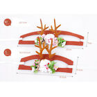 Pet Boy Girl Dog Cat Reindeer Antlers Hairpin Christmas Costume Accessory