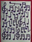 music note stickers, lots of colours avaliable, ideal for general decoration