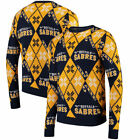 Buffalo Sabres Forever Collectibles NHL Men's Candy Cane Ugly  Sweatshirts
