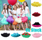 UK High Quality Baby Girls Kids Tutu Skirt Ballet Skirts Fancy Dress Party