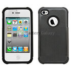 NEW HOT! LOT Hybrid Rugged Rubber Hard Case for Apple iPhone 4 4G 4S 1,100+SOLD