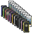 LOT Hybrid Rugged Rubber Matte Hard Case Cover for Apple iPod Touch 5 5th Gen