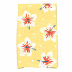 Bay Isle Home Golden Beach Hibiscus Blooms Floral Print Hand Towel
