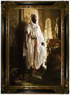 Charlemont The Moorish Chief 1878 Wood Framed Canvas Print Repro 19x28