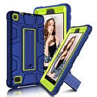 For Amazon Kindle Fire 7 2017 /HD 7 Shockproof Armor Hybrid Kickstand Case Cover