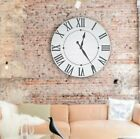 Darby Home Co Oversized Neal Farmhouse Wall Clock