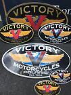"10"" Victory ""OVAL"" Logo Stickers by VicWrapz - FREE SHIPPING! $10.0 USD on eBay"