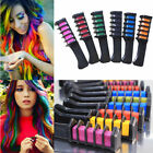 7 Color Temporary Hair Chalk Hair Color Comb Dye Salon Kits Party Fans Cosplay