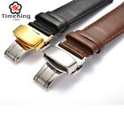 18 19 20 21 22MM Genuine Cow Leather from Italy Wrist Watch Band Strap Men Women