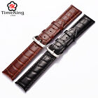 12mm 14 16mm 18 19mm 20 21mm 22 24mm Genuine Cow Leather Wrist Watch Band Strap