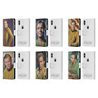 OFFICIAL STAR TREK CAPTAIN KIRK LEATHER BOOK WALLET CASE FOR APPLE iPHONE PHONES