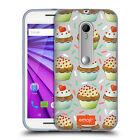 OFFICIAL EMOJI CUPCAKES SOFT GEL CASE FOR MOTOROLA PHONES 2