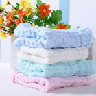 Hot 5PCS Soft Cotton Baby Infant Newborn Bath Towel Washcloth Feeding Wipe Cloth