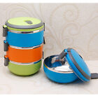 1 Pcs Insulated Leak Proof Lunch Box Adults Kids Thermal Containers Food Storage