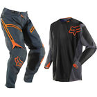 FOX LEGION OFFROAD MOTOCROSS MX PANTS JERSEY - GREY / ORANGE enduro bike