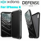 100% Geniune X-doria Defend LUX Case Cover Military Grade Drop Test For Iphone X