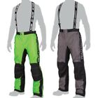 Arctic Cat Men's Team Arctic Racing Uninsulated Snowmobile Pants Bibs - Green