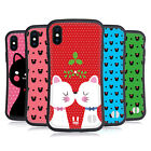 HEAD CASE DESIGNS CHRISTMAS CATS HYBRID CASE FOR APPLE iPHONE X