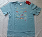 NWT! MENS THE NORTH FACE KNOT DOUBLE DIP T-SHIRT S/S NIMBUS BLUE CLASSIC FIT