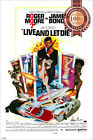 NEW LIVE AND LET DIE 007 JAMES BOND ORIGINAL 70s CINEMA ART PRINT PREMIUM POSTER $119.95 AUD on eBay
