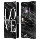 HEAD CASE DESIGNS MARBLE TREND MIX LEATHER BOOK WALLET CASE FOR SAMSUNG PHONES 1