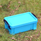 Plastic Small Storage Case Container Organizer Desktop Jewellery Box With Lid