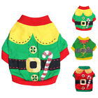 Dog Pets Cat Clothes Santa Sweater Shirt Puppy Christmas Pullover Costume SMLXL