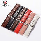 18MM 19MM 20MM Genuine Cow Leather Import From Italy Wrist Watch Band Strap