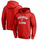 Wisconsin Badgers Fanatics Branded NCAA Team Alumni B&T Poh Sweatshirts